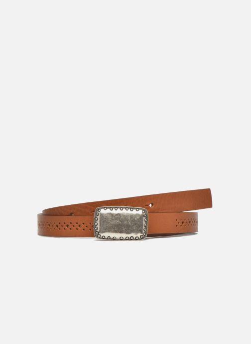 Cinturones Bensimon Ceinture perforée cuir 1 Marrón vista de detalle / par
