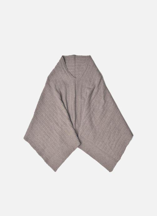 Vêtements Bensimon Poncho laine cachemire Beige vue détail/paire