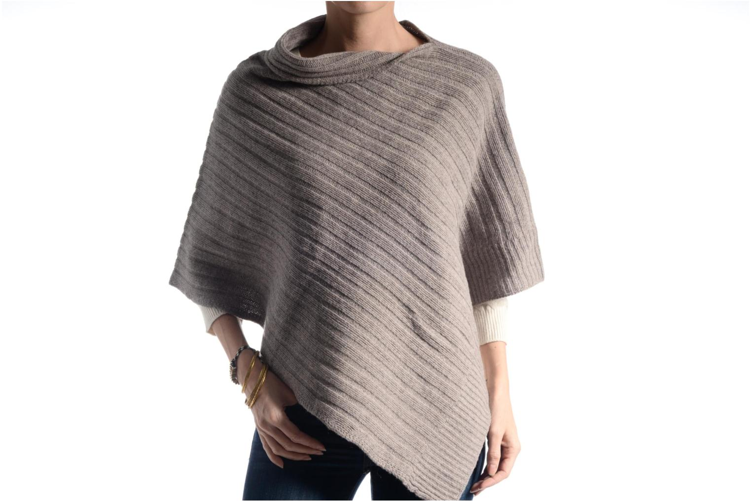 Miscellaneous Bensimon Poncho laine cachemire Beige view from above