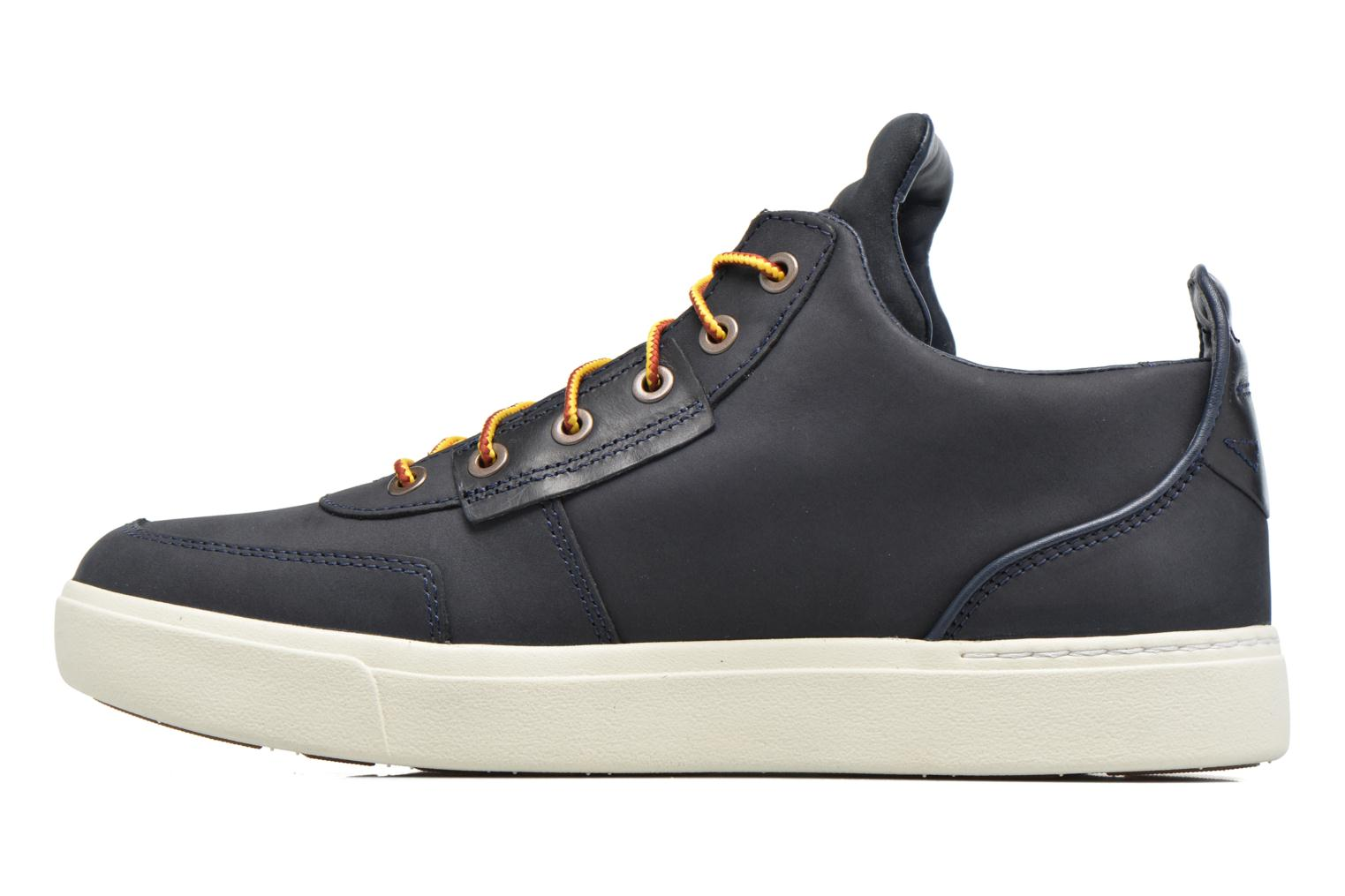 Baskets Timberland Amherst High Top Chukka Bleu vue face