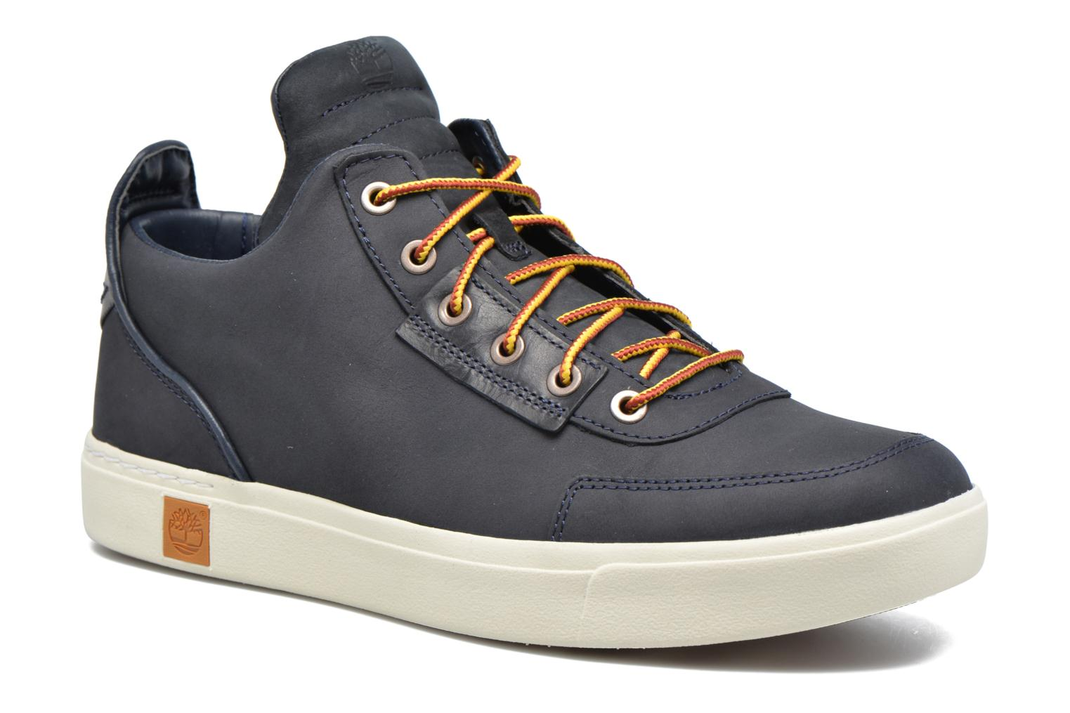 Baskets Timberland Amherst High Top Chukka Bleu vue détail/paire