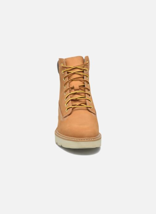 Bottines et boots Timberland Kenniston 6in Lace Up Marron vue portées chaussures