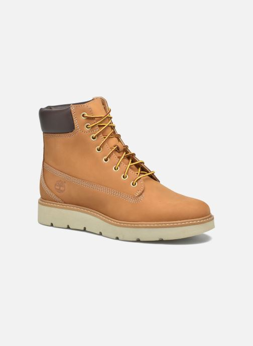 Bottines et boots Timberland Kenniston 6in Lace Up Marron vue détail/paire