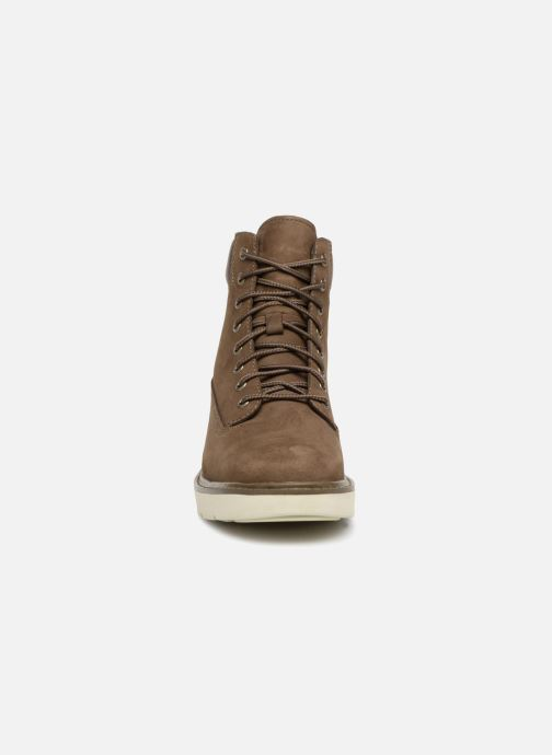 Bottines et boots Timberland Kenniston 6in Lace Up Vert vue portées chaussures