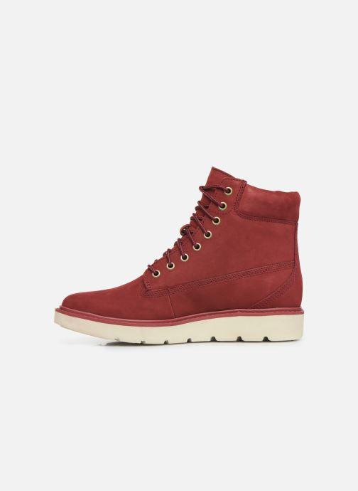 Boots en enkellaarsjes Timberland Kenniston 6in Lace Up Rood voorkant
