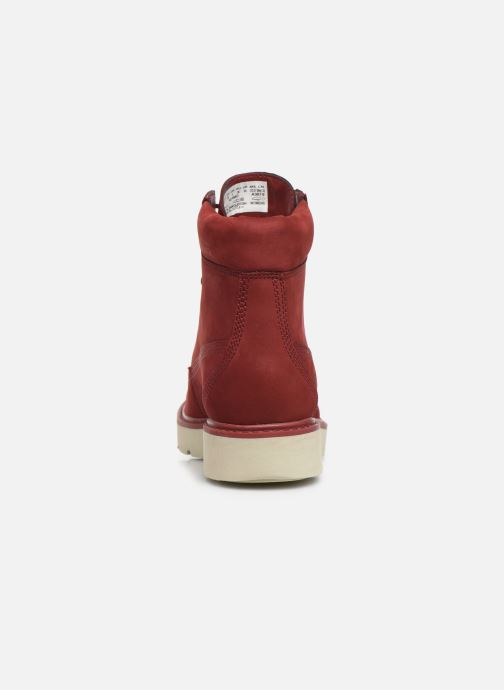 Botines  Timberland Kenniston 6in Lace Up Rojo vista lateral derecha
