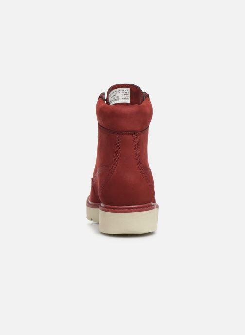 Boots en enkellaarsjes Timberland Kenniston 6in Lace Up Rood rechts