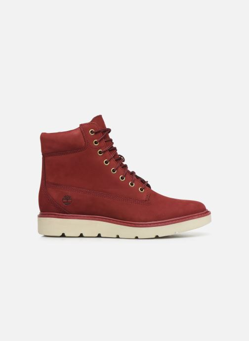 Botines  Timberland Kenniston 6in Lace Up Rojo vistra trasera