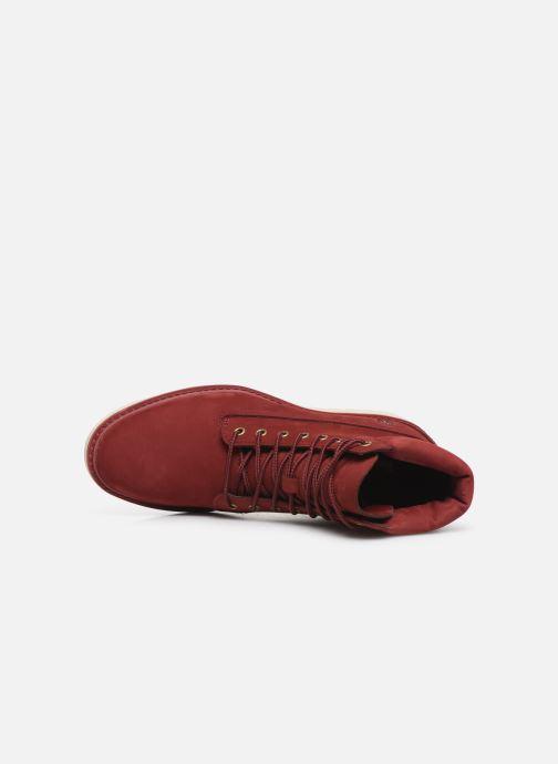 Stiefeletten & Boots Timberland Kenniston 6in Lace Up rot ansicht von links