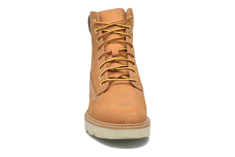 Stiefeletten & Boots Timberland Kenniston 6in Lace Up braun schuhe getragen