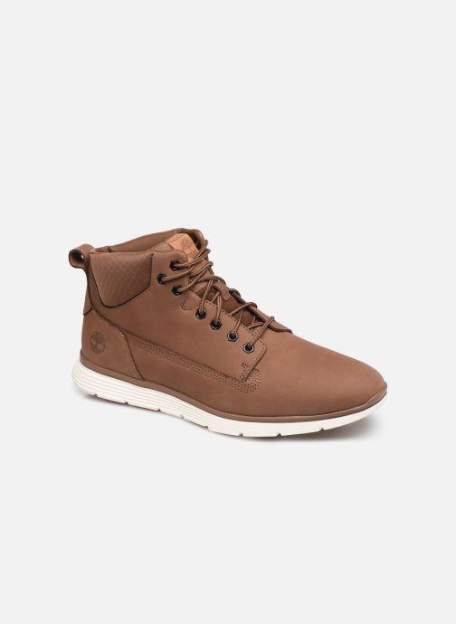 Ankelstøvler Timberland Killington Chukka H Brun detaljeret billede af skoene