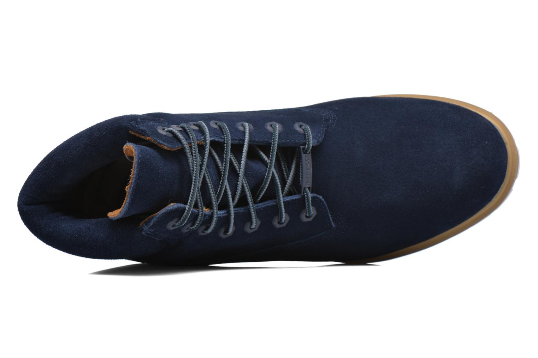 "Bottines et boots Timberland TPU 6"" WP Suede Noir vue gauche"