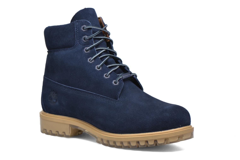 """Bottines et boots Timberland TPU 6"""" WP Suede Noir vue détail/paire"""