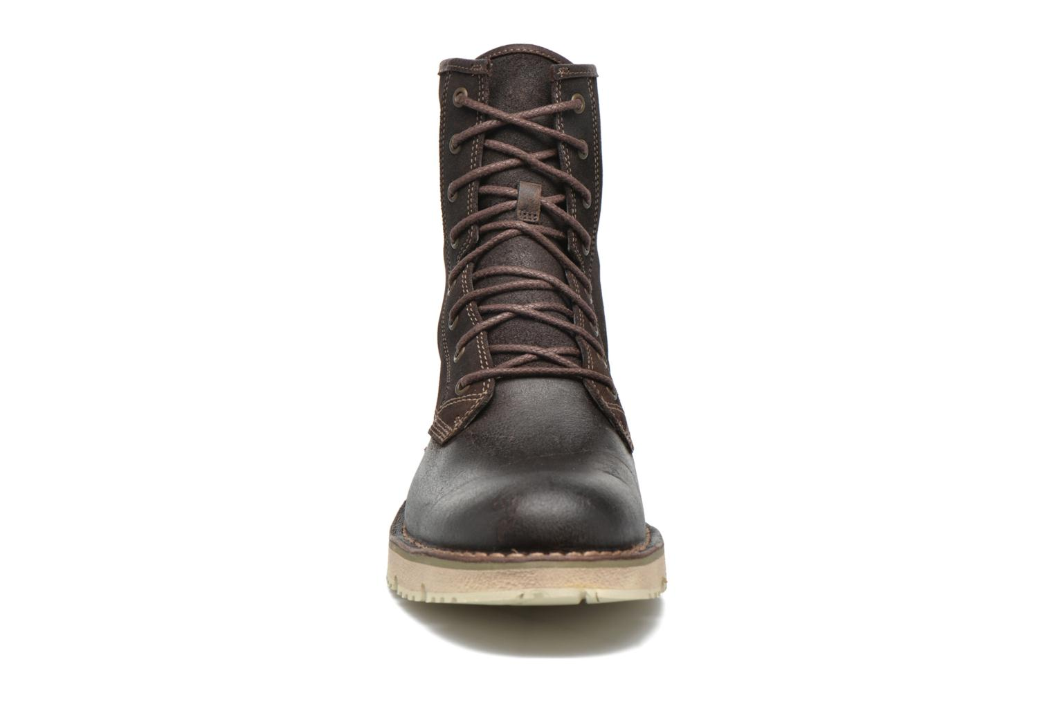 Bottines et boots Timberland Westmore Boot Marron vue portées chaussures