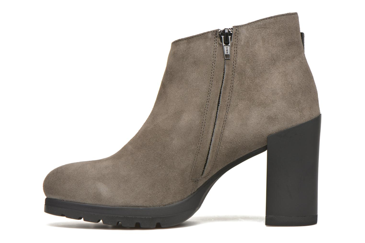 Bottines et boots Stonefly Over 3 Gris vue face