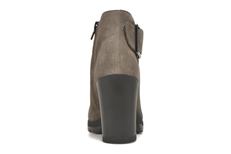 Bottines et boots Stonefly Over 3 Gris vue droite