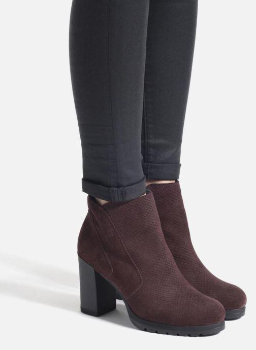 Bottines et boots Stonefly Over 4 Rouge vue bas / vue portée sac