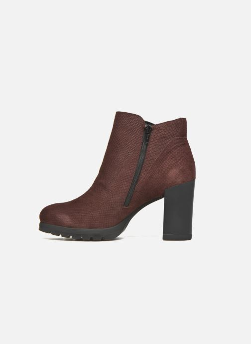 Bottines et boots Stonefly Over 4 Rouge vue face