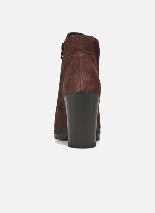Bottines et boots Stonefly Over 4 Rouge vue droite