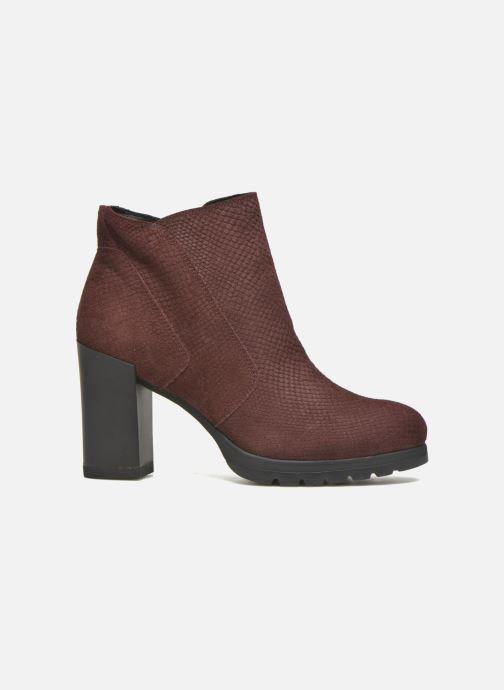 Bottines et boots Stonefly Over 4 Rouge vue derrière