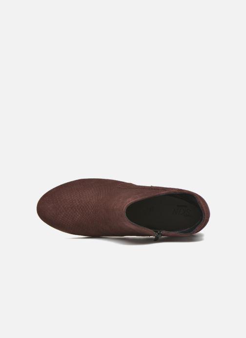 Bottines et boots Stonefly Over 4 Rouge vue gauche