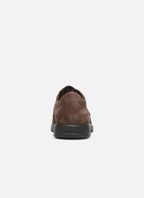 Chaussures à lacets Stonefly Season III 2 BIS Marron vue droite