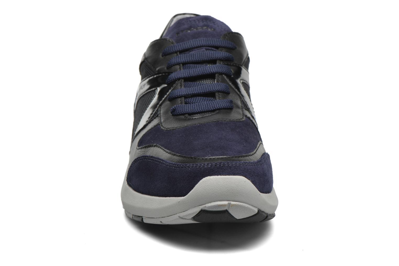 Baskets Stonefly Force man 1 Bleu vue portées chaussures