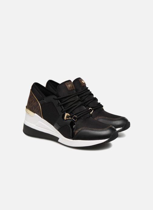 Sneakers Michael Michael Kors Scout Trainer Svart 3/4 bild