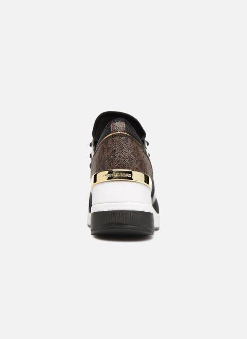 Sneaker Michael Michael Kors Scout Trainer schwarz ansicht von rechts