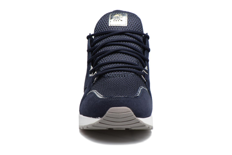 Baskets Michael Michael Kors Scout Trainer Bleu vue portées chaussures