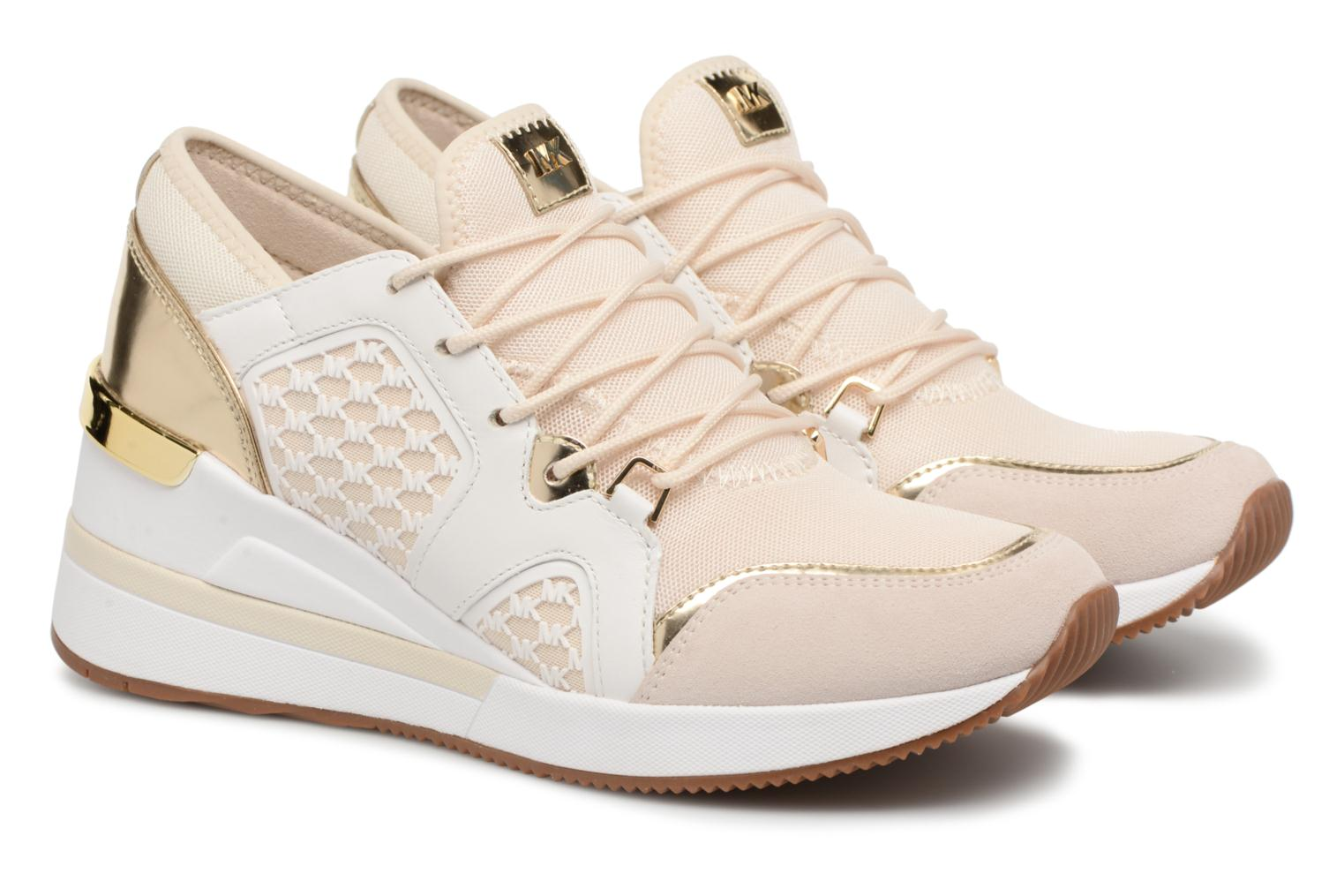 Trainers Michael Michael Kors Scout Trainer Beige 3/4 view