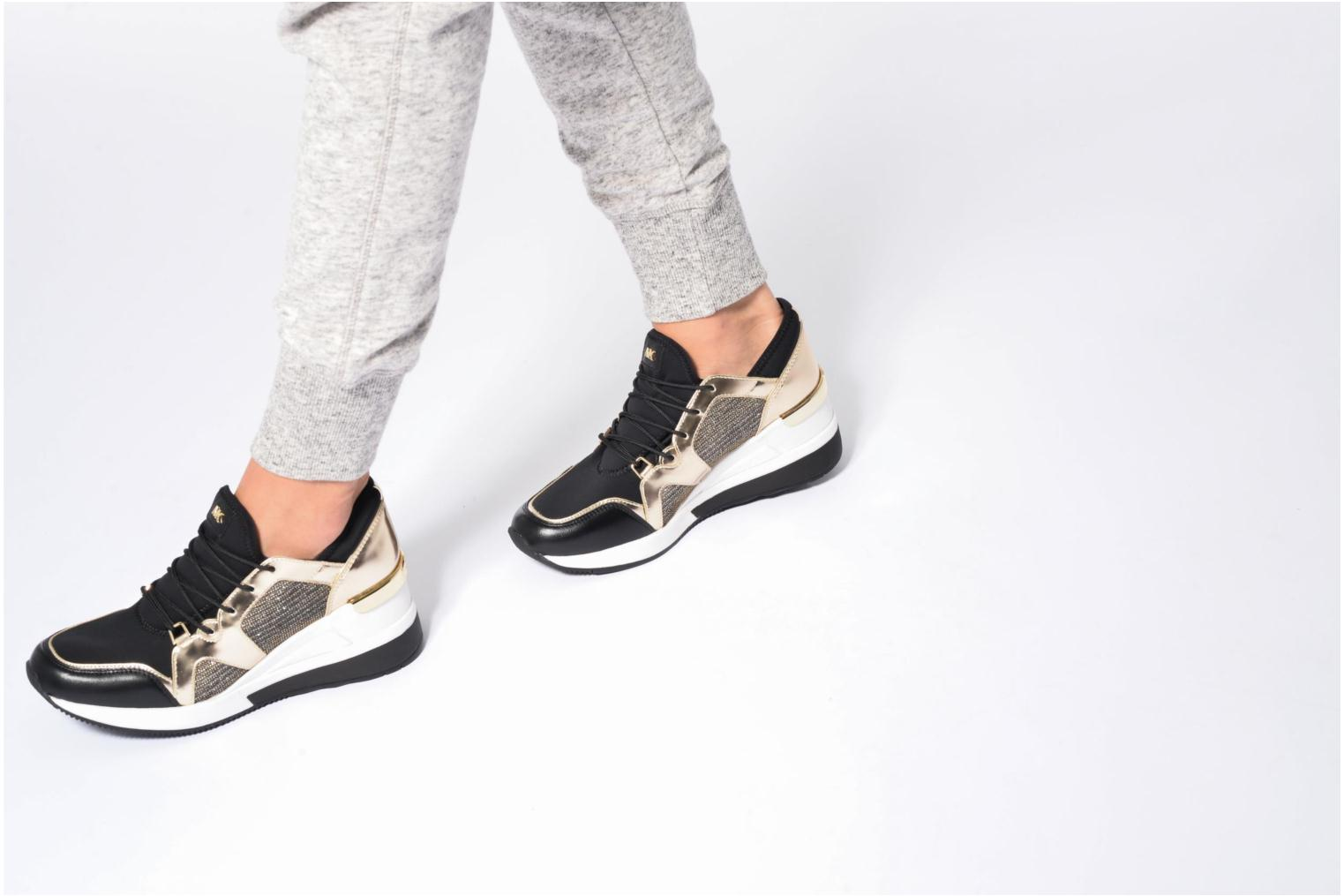 Trainers Michael Michael Kors Scout Trainer Beige view from underneath / model view