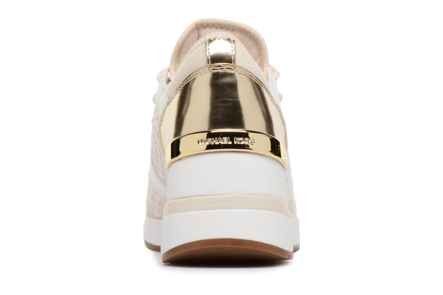 Trainers Michael Michael Kors Scout Trainer Beige view from the right