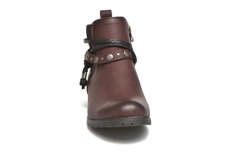 Stiefeletten & Boots Tom Tailor Pauline weinrot schuhe getragen