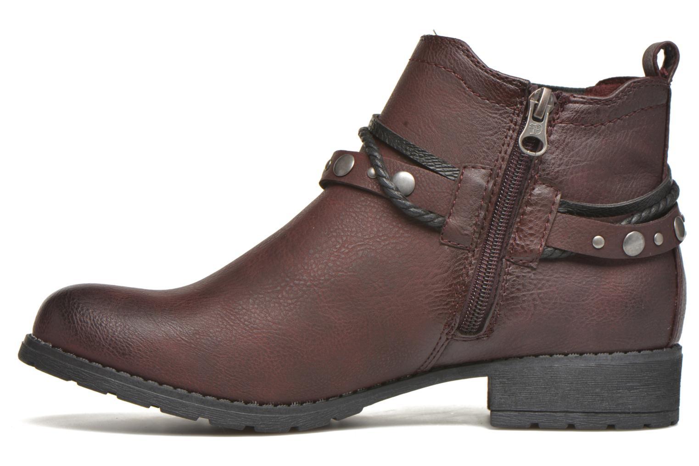 Stiefeletten & Boots Tom Tailor Pauline weinrot ansicht von vorne