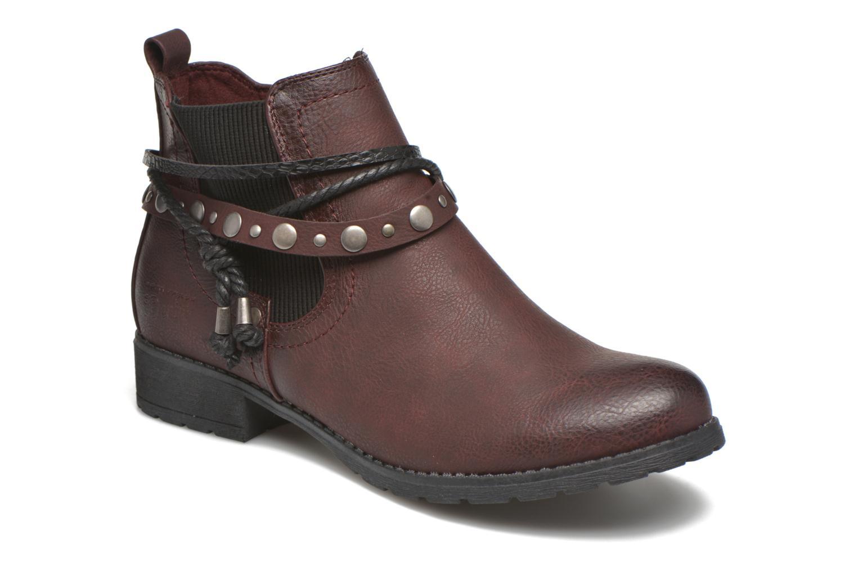 Stiefeletten & Boots Tom Tailor Pauline weinrot detaillierte ansicht/modell