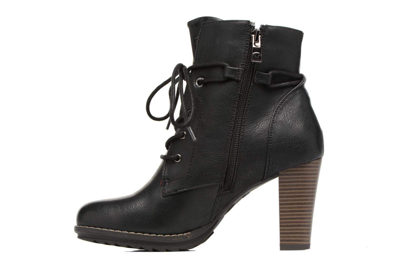 Bottines et boots Tom Tailor Hanna Noir vue face