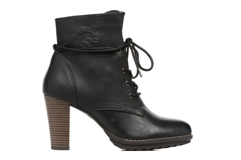 Bottines et boots Tom Tailor Hanna Noir vue derrière