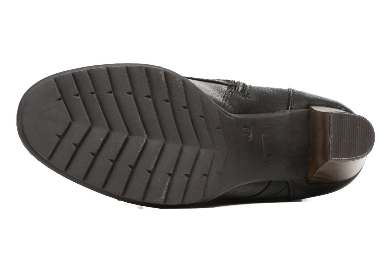 Bottines et boots Tom Tailor Hanna Noir vue haut