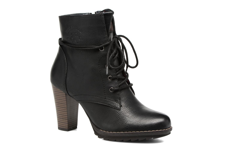 Bottines et boots Tom Tailor Hanna Noir vue détail/paire