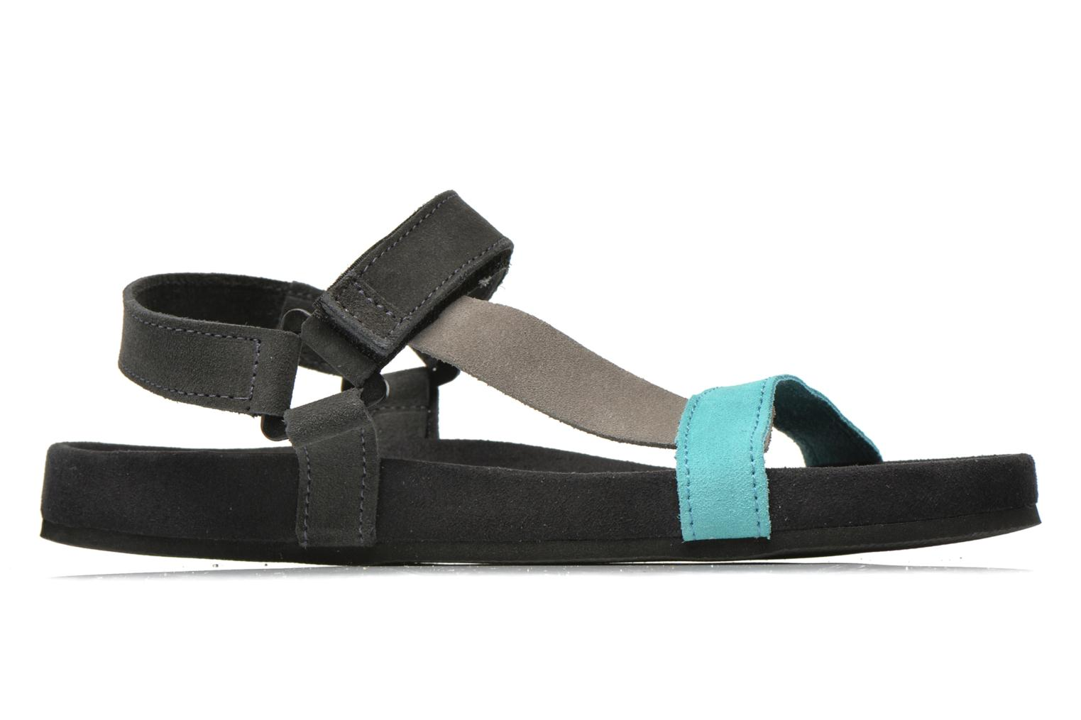 Sandals Coolway Salto Black back view