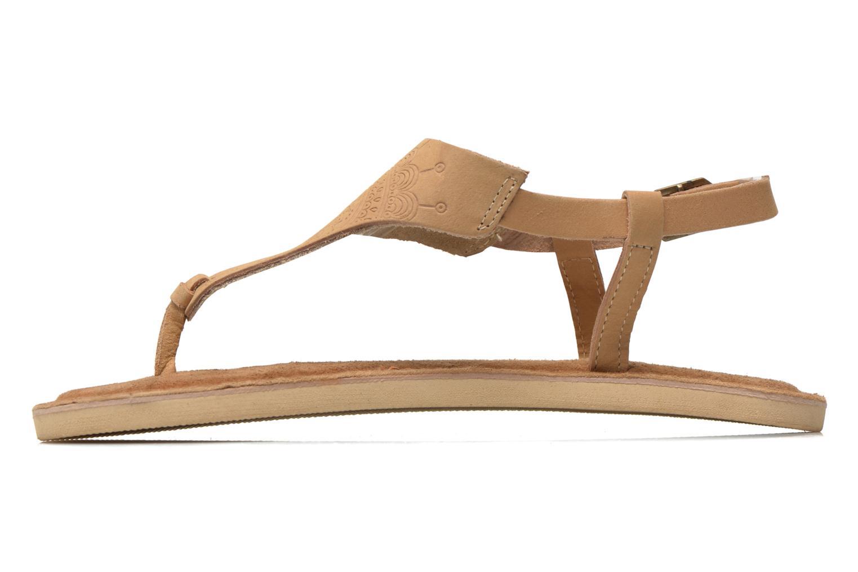 Sandales et nu-pieds Coolway Samy Beige vue face