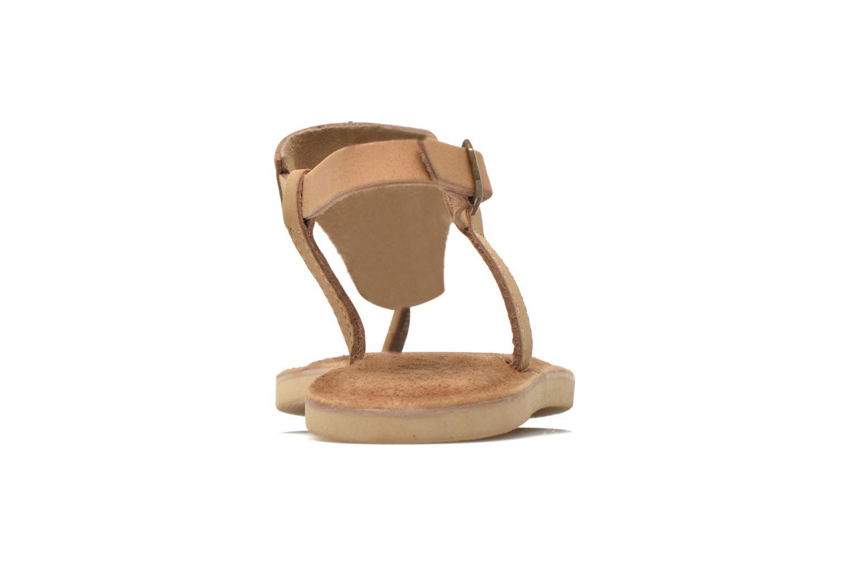 Sandales et nu-pieds Coolway Samy Beige vue droite