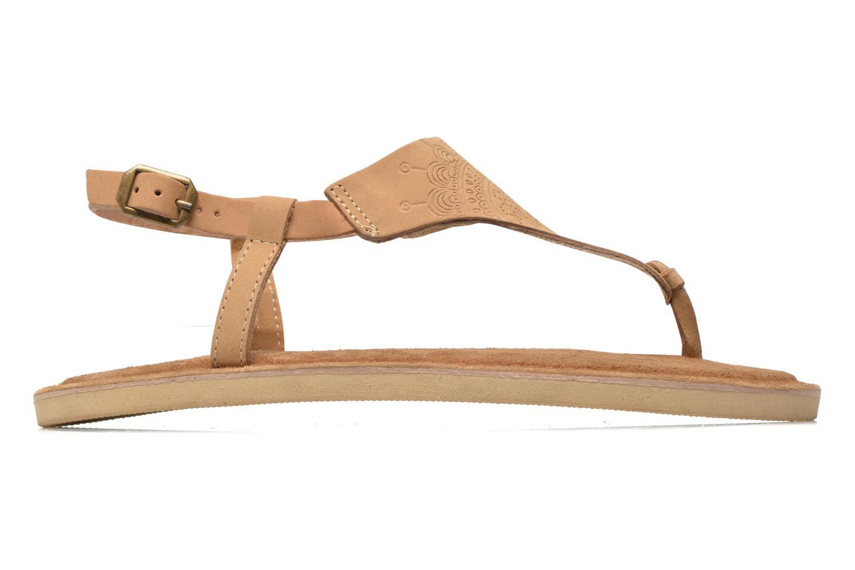 Sandales et nu-pieds Coolway Samy Beige vue derrière
