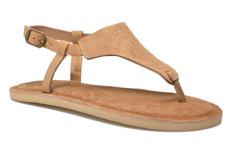Sandales et nu-pieds Coolway Samy Beige vue détail/paire