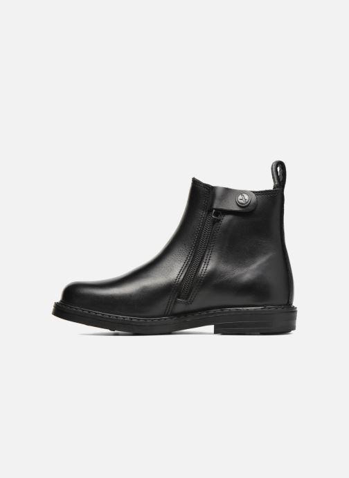 Bottines et boots Aigle Shetland Zip Noir vue face