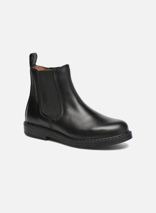 Bottines et boots Aigle Shetland Zip Noir vue détail/paire