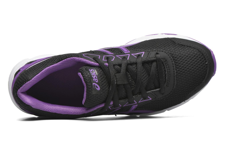 Chaussures de sport Asics Gel-Galaxy 9 GS Noir vue gauche