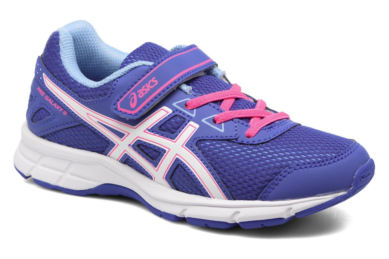 Chaussures de sport Asics Pre Galaxy 9 PS Violet vue détail/paire