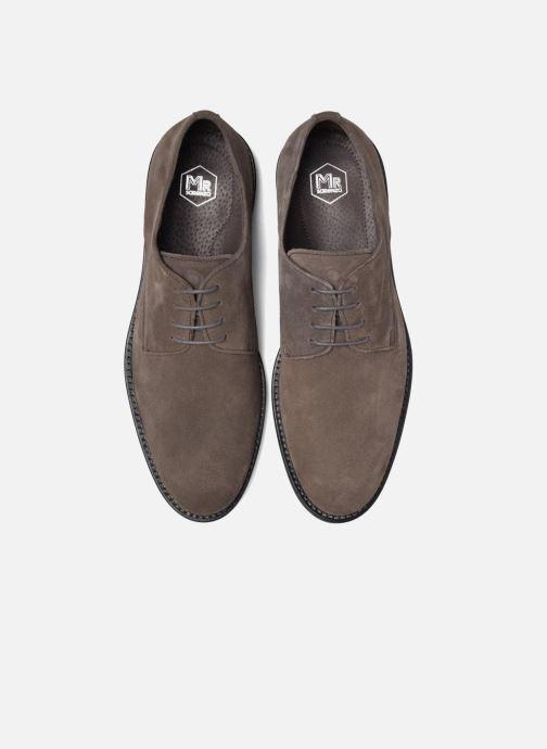 Zapatos con cordones Mr SARENZA Nills Marrón vista del modelo